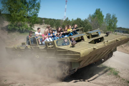 Borne Sulinowo Atrakcja Pojazd wojskowy Militarne Borne